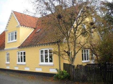gamle hus sydpå